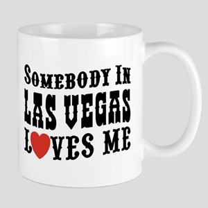 Somebody In Las Vegas Loves Me Mug