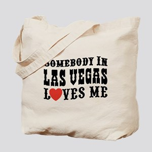 Somebody In Las Vegas Loves Me Tote Bag