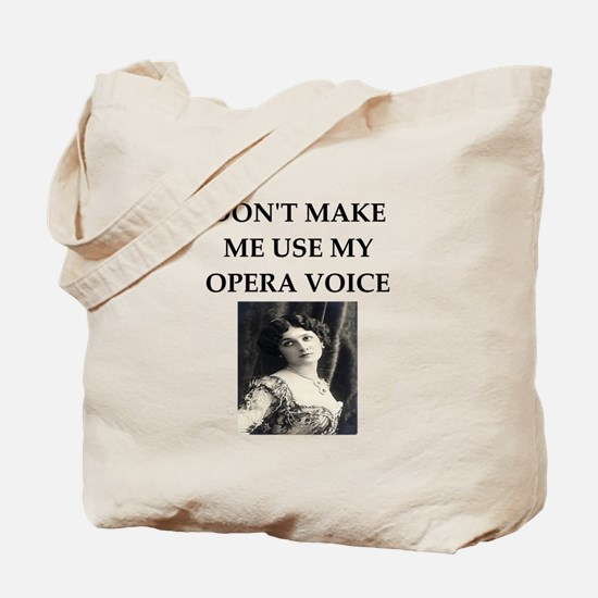 opera voice Tote Bag
