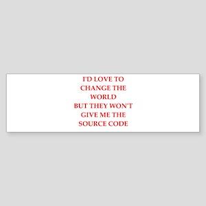 source Bumper Sticker