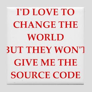 source Tile Coaster