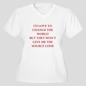 source Plus Size T-Shirt