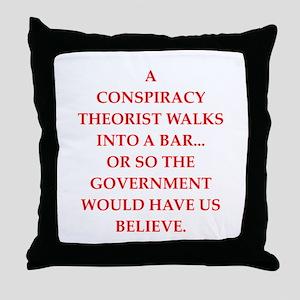 conspiracy Throw Pillow