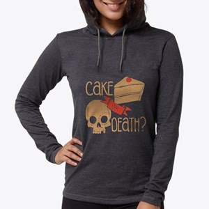 CAKE OR DEATH Shirt Long Sleeve T-Shirt