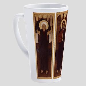 TRIPTYCH 17 oz Latte Mug