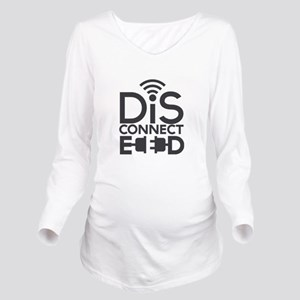 disconnected Long Sleeve Maternity T-Shirt