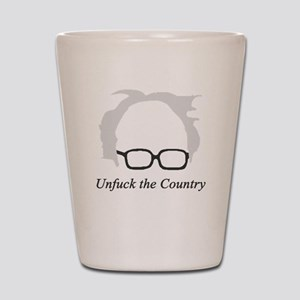 Bernie Unfuck the Country Shot Glass