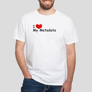 """I LOVE My Metadata"" Tee"