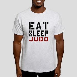 Eat Sleep Judo Light T-Shirt