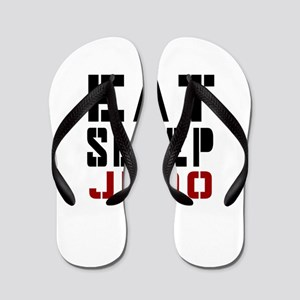 Eat Sleep Judo Flip Flops