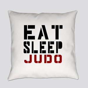 Eat Sleep Judo Everyday Pillow
