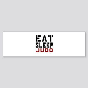 Eat Sleep Judo Sticker (Bumper)