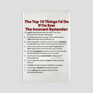 Innocent Top 10! Rectangle Magnet