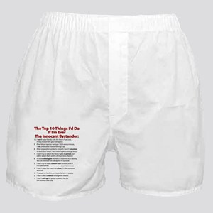 Innocent Top 10! Boxer Shorts