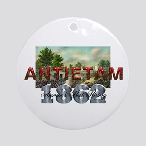 Abh Antietam Round Ornament