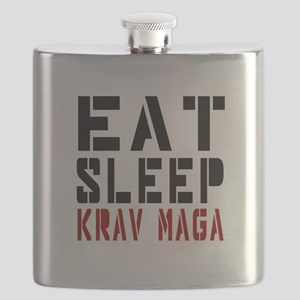 Eat Sleep Krav Maga Flask