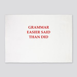 grammar 5'x7'Area Rug