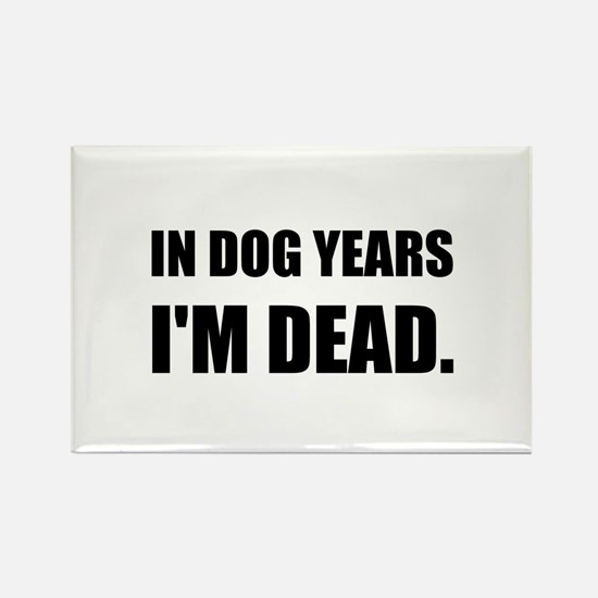 Dog Years Dead Magnets