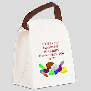 masochist Canvas Lunch Bag
