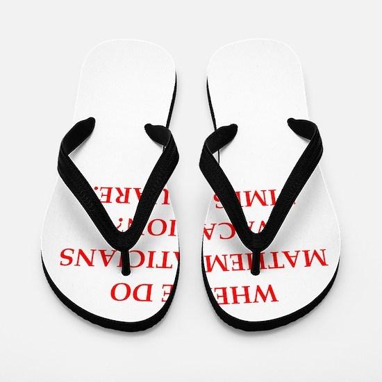 mathematics Flip Flops
