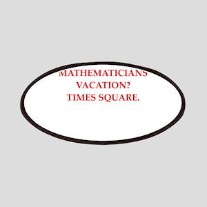 mathematics Patch