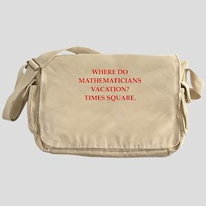 mathematics Messenger Bag