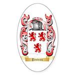 Pasteau Sticker (Oval 50 pk)