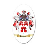 Passmere 20x12 Oval Wall Decal