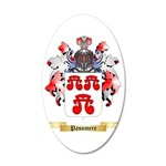 Passmere 35x21 Oval Wall Decal