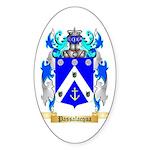 Passalacqua Sticker (Oval 50 pk)