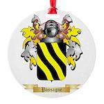 Passagne Round Ornament