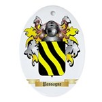 Passagne Oval Ornament
