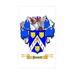 Paskett Sticker (Rectangle 50 pk)