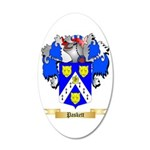 Paskett 20x12 Oval Wall Decal