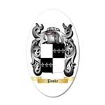 Paske 35x21 Oval Wall Decal