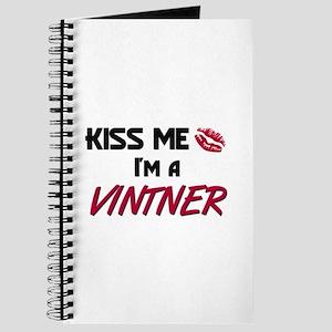 Kiss Me I'm a VINTNER Journal