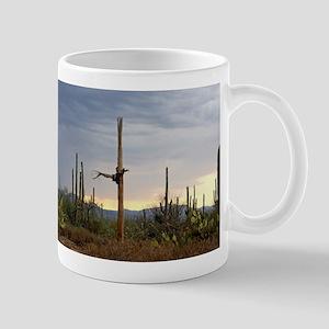 Tucson Saguaro at Sunset Mugs