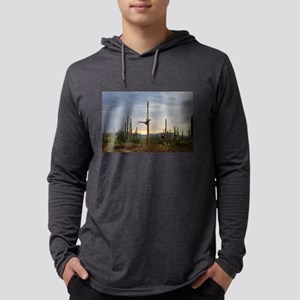 Tucson Saguaro at Sunset Long Sleeve T-Shirt