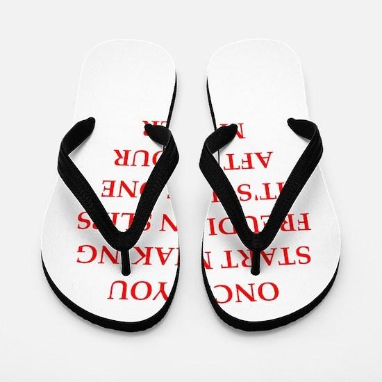 freud Flip Flops