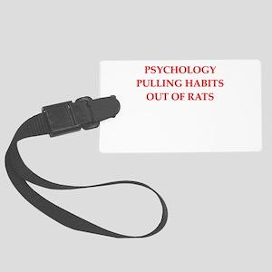 psychology Luggage Tag