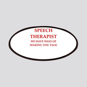 Speech Therapist Patch