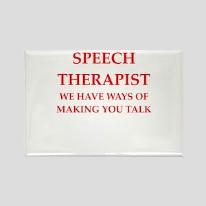 speech therapist Magnets