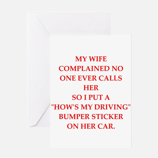 male chauvinist Greeting Cards