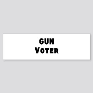 Gun Voter Bumper Sticker