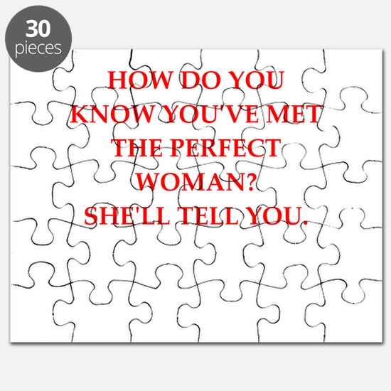 perfect woman Puzzle
