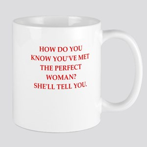 perfect woman Mugs