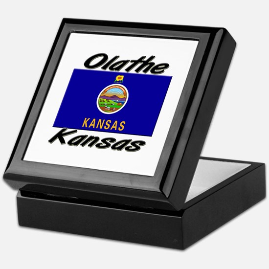 Olathe Kansas Keepsake Box
