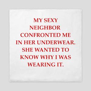 underwear Queen Duvet