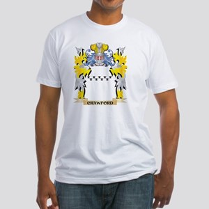 Crawford Coat of Arms - Family Crest T-Shirt