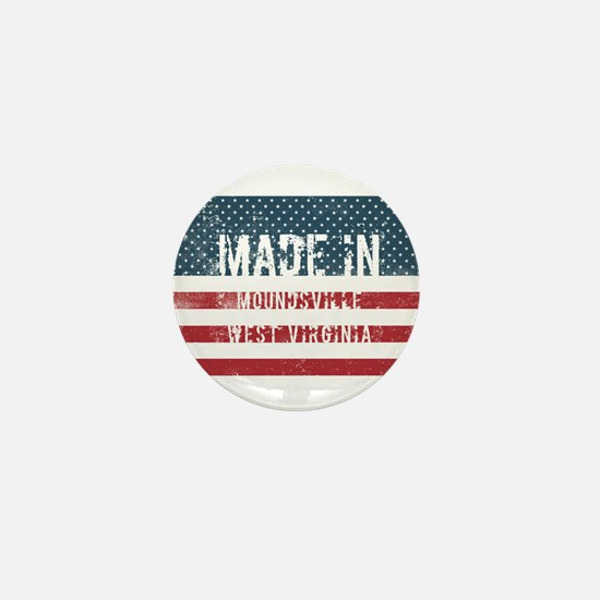 Made in Moundsville, West Virginia Mini Button